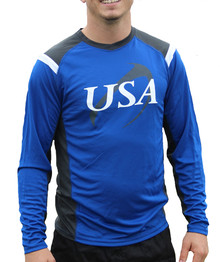 United States Rugby Performance Long Sleeve