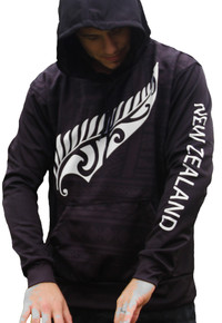 New Zealand Maori Tribal Hoodie