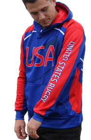 Rugby Ninja USA Hoodie