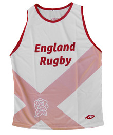 England Rugby Performance Singlet
