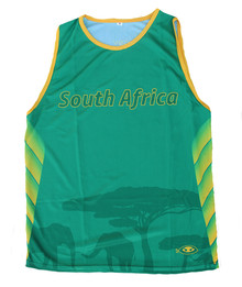 South Africa Rugby Performance Singlet