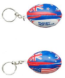 Custom Rugby Keychains