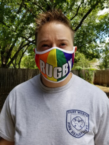 PRIDE Rugby Mask (Over the Ear)