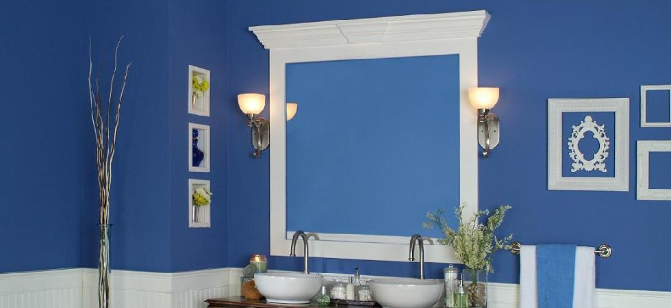 Mirror Frames with cornice cap
