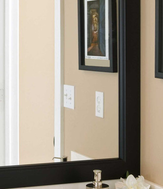 "The Grant Mirror frame with a double-bead, 3"" profile"