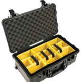 Pelican 1514 Carry On Case 黑色 軟墊間隔 攝影器材安全箱