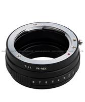Pixco PK-NEX Pentax K to Sony NEX Lens Adapter 鏡頭轉接環