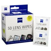 Zeiss New Lens Wipes 新款無酒精蔡司專業光學擦鏡紙50片裝
