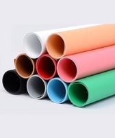 攝影用塑膠背景紙啞面(多色)1 x 2m