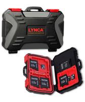 LYNCA 3.0USBKH 安全箱款二合一記憶卡保護盒讀卡器