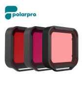 Polarpro GoPro Hero 5/6/7 Super Suit Aqua Filter 紅色潛水濾鏡3色裝