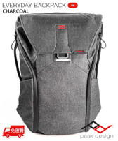 Peak Design Everyday Backpack 30L 功能攝影背囊 Charcoal 深灰色