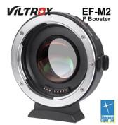 Viltrox EF-M2 自動對焦轉接環0.71x 增大光圈內置光學鏡片Canon EF鏡頭轉接至M43相機