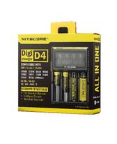 Nitecore Digi Charger D4 四槽多功能智能充電器 AA AAA 18650 16340 26650