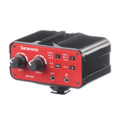 SARAMONIC SR-PAX1  3.5mm, 6.35mm ,XLR 機上型混音器