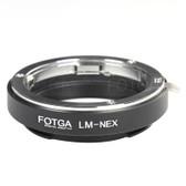 Fotga LM-Nex Leica M to Sony E Mount 手動轉接環