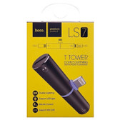Hoco LS7 T Tower iPhone double lightning digital audio converter