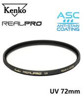 Kenko Real Pro UV Filter (Made in Japan) 72mm