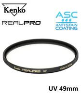 Kenko Real Pro UV Filter (Made in Japan) 49mm