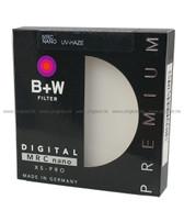 B+W MRC nano XS-PRO UV-HAZE Filter 62mm 超薄框保護鏡