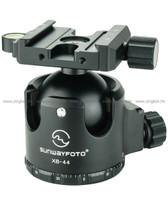 Sunwayfoto XB-44 超低重心高鎖力球形雲台(可承重40kg)