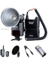 Godox 神牛 AD360 閃光燈連Y形線、燈管保護罩、蜂窩、觸發器套裝