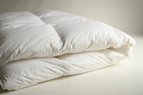 Nice loft in this down comforter!