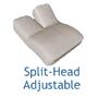Split-Head Adjustable