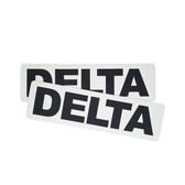 Delta name patch (pair)