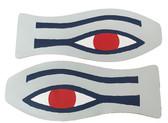 Ribeye Logo Eye logo Blue & Grey