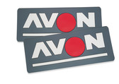 Avon Name Patch (pair)