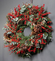 December Christmas Door Wreath Workshops