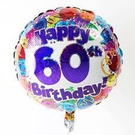 60th Balloon