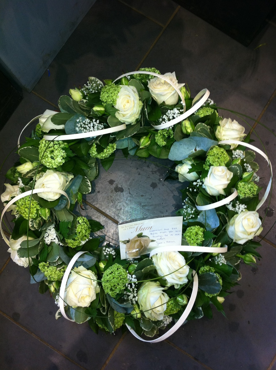 Funeral wreaths style 6 contemporary flowers image 1 izmirmasajfo