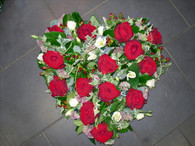 """All Our Hearts are available in either 15"""", 17"""", 19"""" or 21"""" size ( standard, luxury, deluxe, extra special)"""