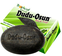100% All Natural Dudu Osun Black Soap Anti Acne,Fungus,Blemish,Psoriasis