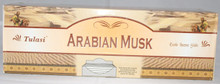 TULASI Arabian Musk  INCENSE STICKS 4 X 8 STICK PACKS + 1 FREE INCENSE HOLDER