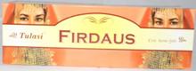 TULASI Firdaus Incense sticks 4 X 8 STICK PACKS + 1 FREE INCENSE HOLDER