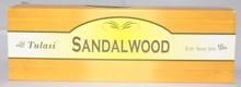 Tulasi Sandalwood Incense sticks 4 X 8 STICK PACKS + 1 FREE INCENSE HOLDER
