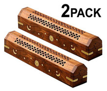 2 x Incense coffins