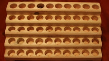 1/3 or 1/8 plain roll-on Body oil Rack - 50  holes