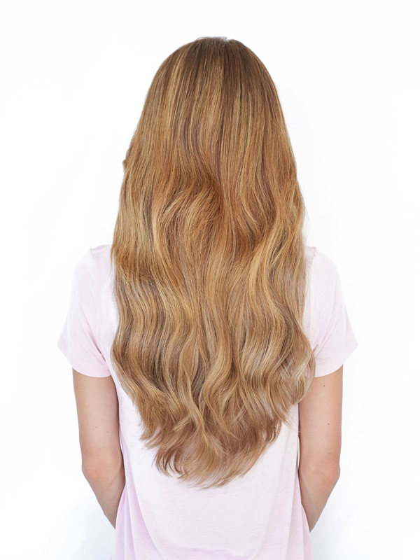 20 inch cashmere hair clip in extensions