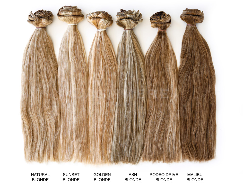 Color Chart Hair Extensions Match 95
