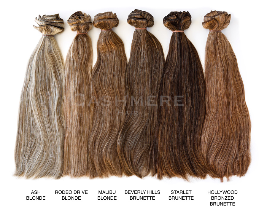 Color Chart Hair Extensions Match 63
