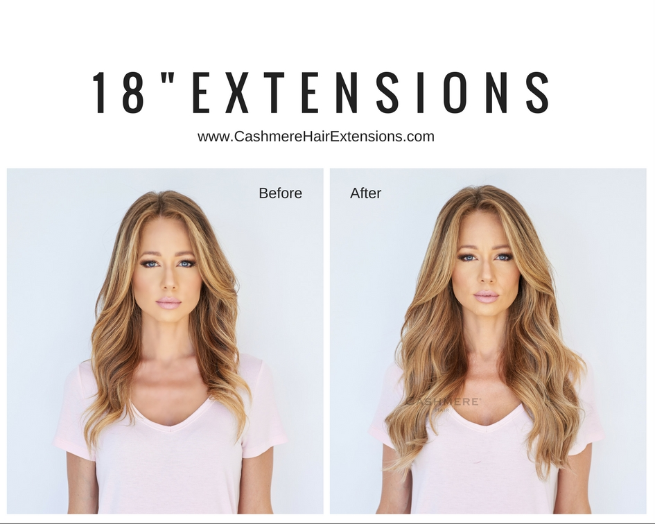 Cashmere Hair Before And After