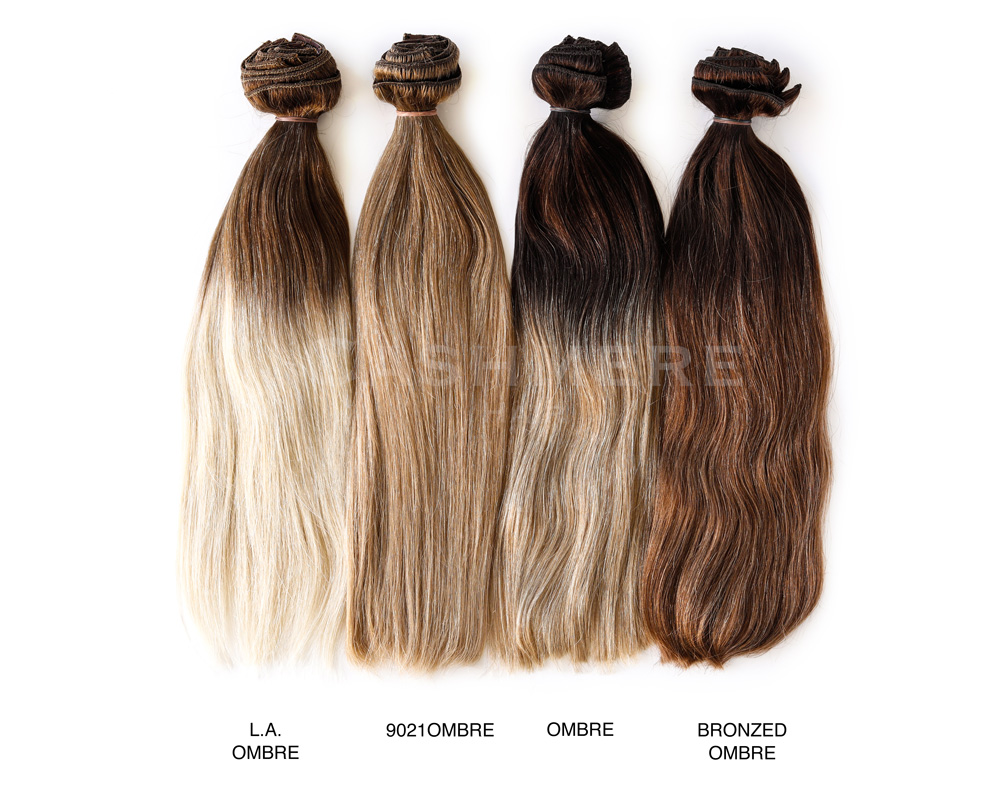 ombre hair extensions color chart