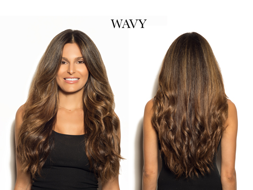 Wavy Cashmere Hair Clip In Extensions