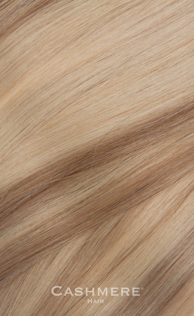 Pale Ash Blonde Clip In Hair Extensions