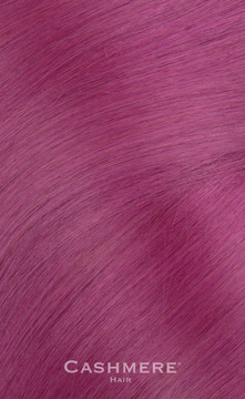 16 Inch Purple Clip In Cashmere Hair Extensions
