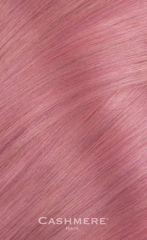 Pink Cashmere Hair Colors clip-in extensions
